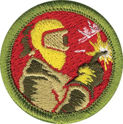 Welding Merit Badge Patch